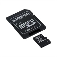 8GB microSDHC Class 4 Flash Memory Card