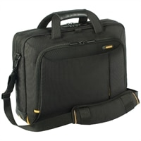 Targus Canada Meridian Toploading Laptop Case - Fits Laptops of Screen Size Up to 15.6-inch - Black
