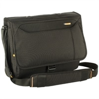Meridian Messenger Case - Fits Laptops of Screen Sizes Up to 15.6-inch - Black
