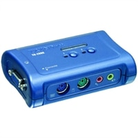 2-Port TK-208K PS/2 Audio KVM Switch