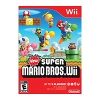 Mario New Super Mario Bros Wii