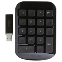 Wireless Numeric Keypad - Black/Gray