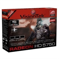 VisionTEK Radeon HD 5750 Series 1GB GDDR5 PCIe 2.0 Graphics Card