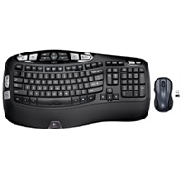 MK550 Wireless Wave Keyboard and Mouse Combo - French
