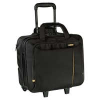 Targus Meridian II Roller Laptop Carrying Case - Fits Laptops with Screen Sizes up to 15.6-inch