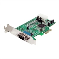 1 Port Low Profile Native RS232 PCI Express Serial Card with 16550 UART