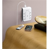 USB Charging 6-outlet Surge Protector