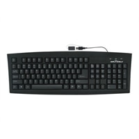 Seal Shield Worlds only Antimicrobial Submersible Keyboard - Full Travel Keys - Laser Etch