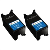 Lexmark  Dell - Single Use Standard Yield Color Cartridge (Series 21) For Select Dell All-in-One printers