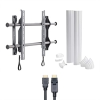 HDTV Starter Bundle include Mount for 26-inch-50-inch TV's,   HDMI Cable and Cable Covers