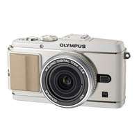 PEN E-P3 12.3 MP Interchangeable Lens Camera with 17mm Zoom Lens and Full 1080 HD Video - White
