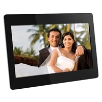 Aluratek ADMPF114F 14-inch High Resolution Digital Photo Frame with 512MB Built-in Memory and Remote