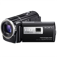 Sony HDR-PJ260V High Definition Handycam 8.9 MP Camcorder with 30x Optical Zoom, 16GB Embedded Memory and Built-in Projector