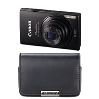 Canon PowerShot ELPH 320 HS 16.1 MP Wi-Fi Enabled CMOS Camera with 5x Zoom 24mm Wide-Angle Lens, 1080p Full HD Video and 3.2 Inch Touch Panel LCD - Black
