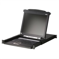ATEN Technology 17-inch Single Rail LCD KVM Console