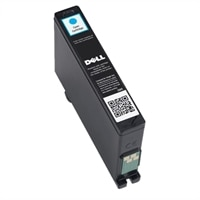Single Use Extra-High Capacity Cyan Ink Cartridge (Series 33) for Dell V525w/V725w All-in-One Printer