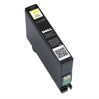 Dell Single Use Extra-High Capacity Yellow Ink Cartridge (Series 33) for Dell V525w/V725w All-in-One Printer