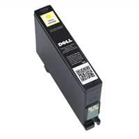 DELL Single Use Standard Capacity Yellow Ink Cartridge (Series 31) for Dell V525w/V725w All-in-One Printer - Retail