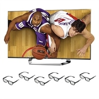 LG 55-inch LED TV – 55LM9600 Nano 1080p 480Hz Smart HDTV with Six pairs of 3D Glasses