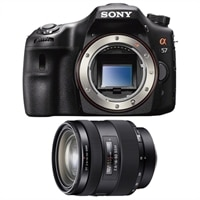 Sony Alpha SLT-A57 16.1 MP Exmor APS HD CMOS Sensor DSLR Bundle with 16-50mm f/2.8 Standard Zoom Lens