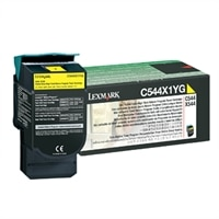 Lexmark Canada CS-SHERIDAN COLLEGE-Lexmark C544/X544 Extra High Yield Return Program Yellow Toner Cartridge