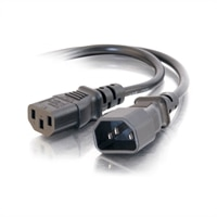 C2G 6ft 18 AWG Computer Power Extension Cord (IEC320C14 to IEC320C13) - power extension cable - 1.8 m