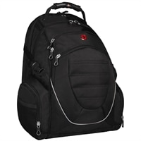 Swiss Gear Scan Smart Backpack with patented Quick Look Back - Fits Laptop Screen Sizes Up to 17.3-inch