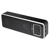 Aluratek ABS02F Portable Bluetooth Wireless Speaker/Speakerphone with Built-In Battery