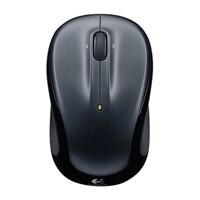 Logitech M325 - Mouse - optical - wireless - 2.4 GHz - USB wireless receiver - black