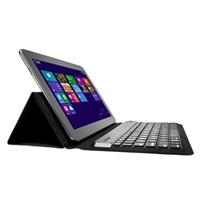 Kensington KeyFolio Expert for Android & Windows Tablets - Keyboard and folio case - Bluetooth - US - black - retail