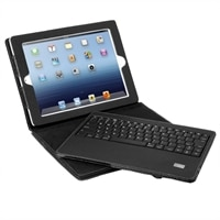 Aluratek  Bluetooth Folio Case with Removable Keyboard for iPad 1, 2 and 3rd Generation