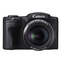 Canon PowerShot SX500 IS 16.0 MP Digital Camera with 30x Wide-Angle Optical Zoom lens and 3.0-inch LCD Display-Black