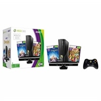 Microsoft Corporation Xbox 360 4GB Holiday Bundle with Kinect Sensor/ Kinect Adventures and Kinect Disneyland