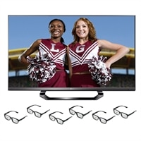 LG 47-inch LED TV - 47LM6400 1080p 120Hz Smart HDTV with Six pairs of 3D Glasses