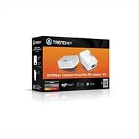 Trendnet Powerline 500 AV Nano Adapter Kit (TPL-406E2K)