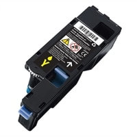 Dell 700 Page Yellow Toner Cartridge for Dell C17XX/ 1250C/ 1350CNW/ 1355CN/ 1355CNW Color laser Printers