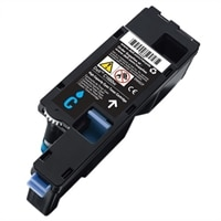 Dell 1,000 Page Cyan Toner Cartridge for Dell C1660w Color Printer