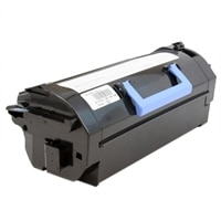 Dell 6,000-Page Black Toner Cartridge for Dell B5460dn/B5465dnf Laser Printers - Use and Return