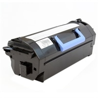Dell 25,000-Page Black Toner Cartridge for Dell B5460dn/B5465dnf Laser Printers - Use and Return