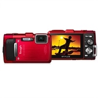 Olympus Corporation Stylus TG830 iHS Camera Red