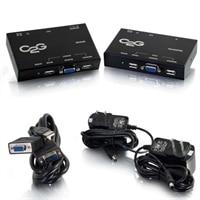 C2G VGA + USB over Cat5 KVM Extender - Video / USB extender - up to 150 m