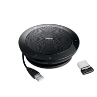 GN Jabra SPEAK 510 MS - USB / Bluetooth VoIP Desktop Hands-free - Wireless - with Jabra LINK 360 MS Adapter