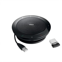 Jabra SPEAK 510 for UC - USB / Bluetooth VoIP desktop hands-free - with Jabra LINK 360 Adapter