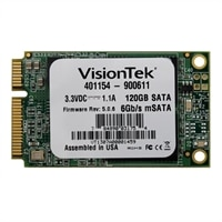 VisionTek - Solid state drive - 120 GB - internal - mSATA - SATA 6Gb/s (900611)
