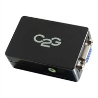 C2G Pro HDMI to VGA and Audio Adapter Converter - Video converter - HDMI - HDMI - black