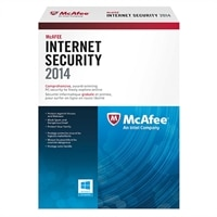 McAfee Internet Security 2014 - Subscription licence ( 1 year ) - 3 PCs - ESD - Win - French - Canada