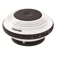 Toshiba Portable Bluetooth Speaker & Speakerphone - White