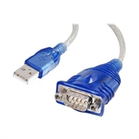 C2G Port Authority RS-232 USB Serial Adapter - Blue