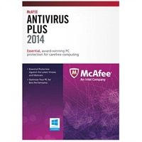 McAfee AntiVirus Plus 2014 - 3 PCs