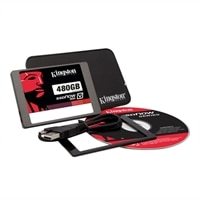 Kingston SSDNow V300 Laptop Upgrade Kit - Solid state drive - 480 GB - internal - 2.5-inch - SATA 6Gb/s (SV300S3N7A/480G)